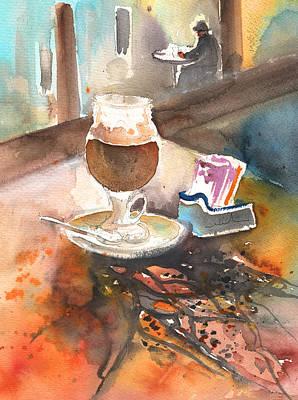Painting - Latte Macchiato In Italy 02 by Miki De Goodaboom