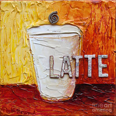 Mixed Media - Latte by Phyllis Howard