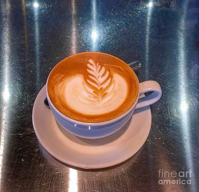 Photograph - Latte Star by Susan Garren