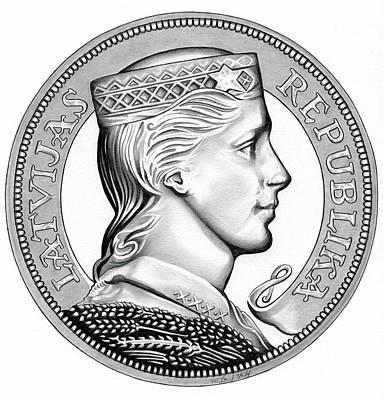 Latvia Crown Original
