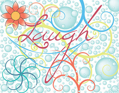 Digital Art - Laugh by John Crothers