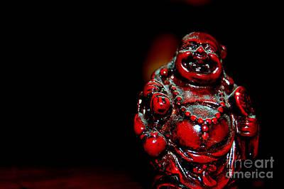 Photograph - Laughing Buddha by Anjanette Douglas
