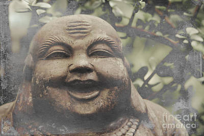 Photograph - Laughing Buddha by Sharon Mau