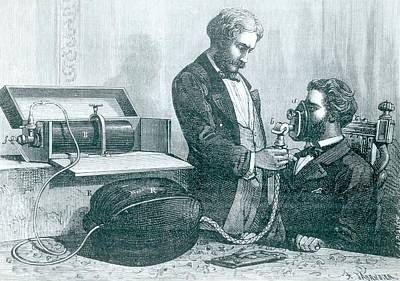 1874 Photograph - Laughing Gas Apparatus by Universal History Archive/uig