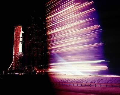 Skylab 4 Wall Art - Photograph - Launch Of Saturn Rocket For Skylab 4 by Nasa/science Photo Library