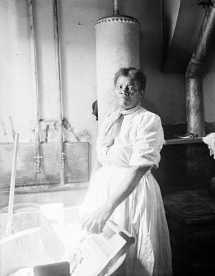 Photograph - Laundress, C1918 by Granger