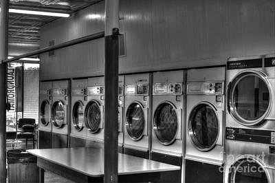 Laundromat Photograph - Laundromat by Robert Loe