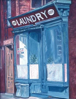 Americana Painting - Laundry by Anthony Butera