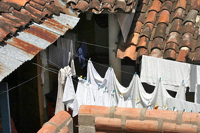 Photograph - Laundry by David Beebe