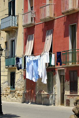 Laundry Day Art Print by Carla Parris