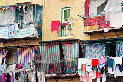 Art Print featuring the photograph Laundry Day by Cassandra Buckley