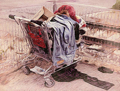 Painting - Laundry Day by Dennis Buckman