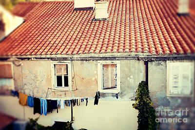 Dubrovnik Croatia Photograph - Laundry Day  by Erin Johnson