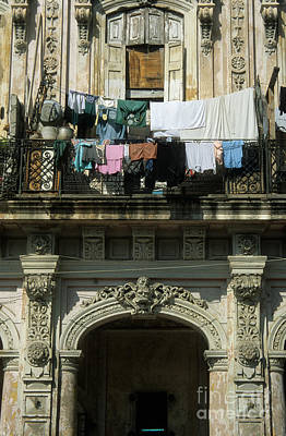Laundry Day Art Print by James Brunker