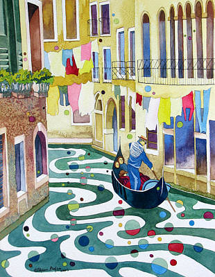 Painting - Laundry Day by Sherri Bails