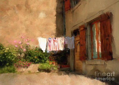 Photograph - Laundry Day by Terry Rowe