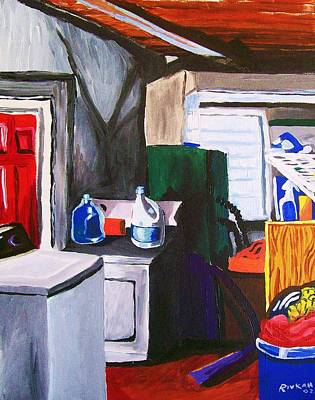 Painting - Laundry Room by Rivkah Singh