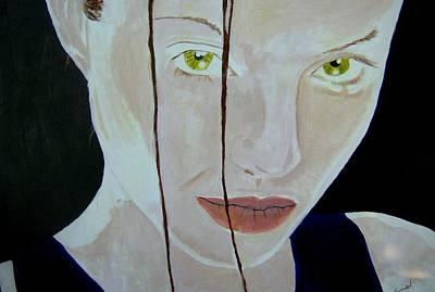 Painting - Laura Croft Tomb Raider by Dan Twyman