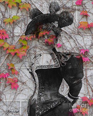 Fall Colour Digital Art - Laura Jean Vines by Judy Wood