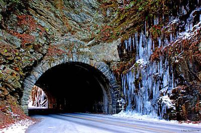 Laurel Creek Road Tunnel Art Print by Paul Mashburn