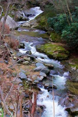 Photograph - Laurel Creek  by Tom Culver