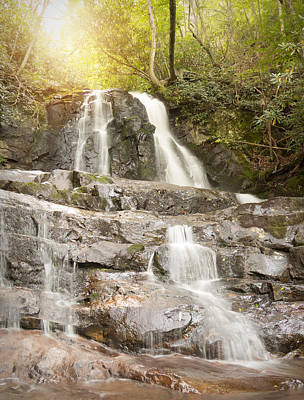Photograph - Laurel Falls by Cindy Haggerty