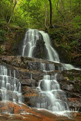 Photograph - Laurel Falls In The Smokies by Adam Jewell