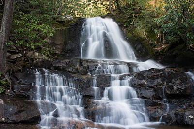 Art Print featuring the photograph Laurel Falls by Jay Stockhaus