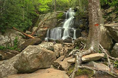 Photograph - Laurel Falls Rugged Landscape by Adam Jewell