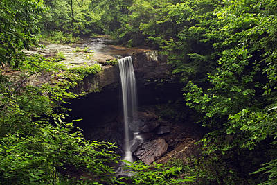 Photograph - Laurel Falls Waterfall by Byron Jorjorian