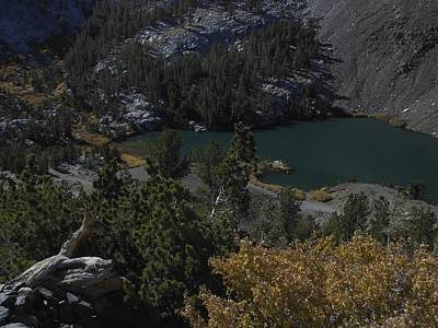 Photograph - Laurel Lake Fall Color by Don Kreuter
