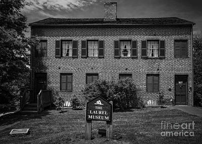 Photograph - Laurel Maryland Museum by Phil Cardamone