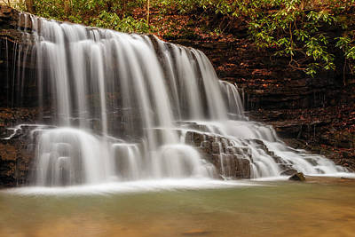 Laurel Run Falls Tn Art Print