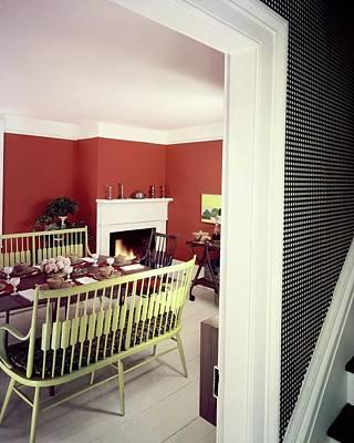 Lauren Photograph - Laurens W. Macfarland's Dining Room by Tom Leonard