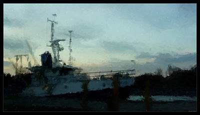 Painting - Laurent Great Lakes Research Vessel by Rosemarie E Seppala