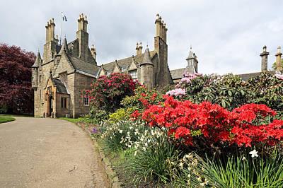 Photograph - Lauriston Castle by Grant Glendinning