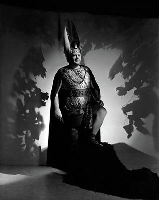 Tenor Photograph - Lauritz Melchior In Costume by Horst P. Horst
