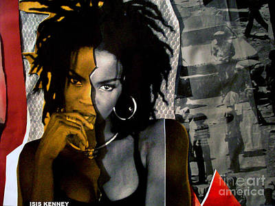 Isis Mixed Media - Lauryn Hill  by Isis Kenney