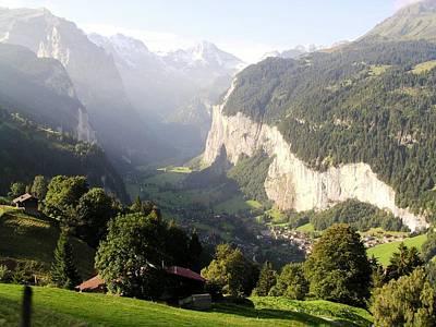Wengen Photograph - Lauterbrunnen Valley by Martin Jones
