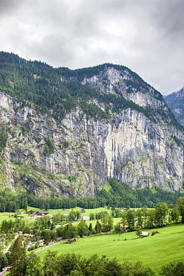 Lauterbrunnen Photograph - Lauterbrunnen Valley, Switzerland by Jason Maehl