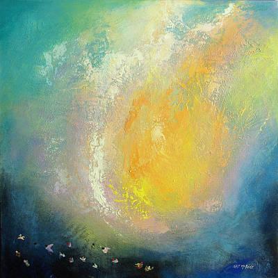 Landscape Painting - Lava Bomb by Neil McBride