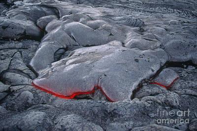 Lava Flow, Hawaii Print by Art Wolfe
