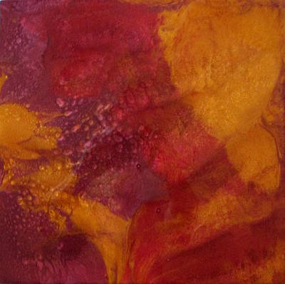 Painting - Lava Flow by Mary Kay Holladay