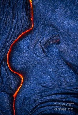 Lava Formation, Kilauea Volcano, Hawaii Art Print by Stephen and Donna O'Meara