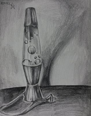Lava Lamp Art Print