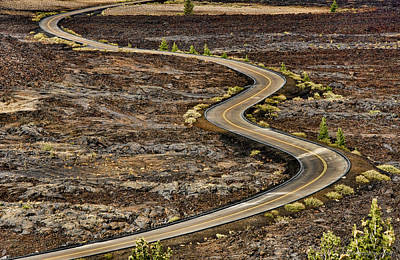 Photograph - Lava Road by Britt Runyon