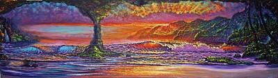 Lava Tube Fantasy Art Print