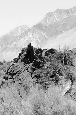 Lava-white Mountains II  Art Print by Harold E McCray