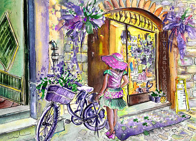 Painting - Lavanda Di Venzone In Bergamo by Miki De Goodaboom