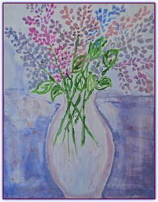 Lavendar  Flowers Art Print